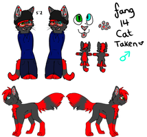 New Full Fang Ref 2013 by FangKittyArtist