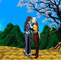 Kataang: Blossoming love by Deathcomes4u