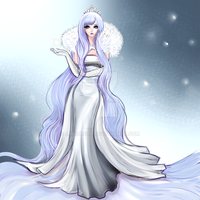 Winter Goddess by Janjanita
