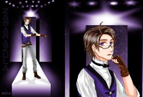 Fashion Design Austria of Hetalia by Zamarazula