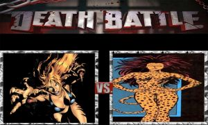 DEATH BATTLE Idea Tigra VS The Cheetah by JefimusPrime