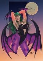 Morrigan by giuseppe-cafaro ( COLORS ) by carol-colors