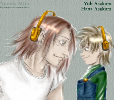 Like father like son -Mankin- by Shaman-King-Lovers