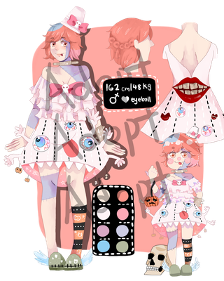 [OPEN] Adopt Set Price: White-chan by Tmeursault