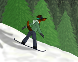 Snowboarding Time! by CursedFire