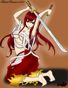 Erza Scarlet^^ by BlackObsession666
