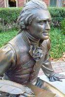Bronze Thomas Jefferson by theboredpoetess12