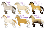 NorWar Adoptables 2 ALL TAKEN! by PinkPonyFarts
