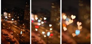 heart bokeh by keffi