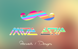 Moe Trip Records / Designs Wallpaper by WilliamBate