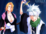 Rangiku, Toshiro by gaston18