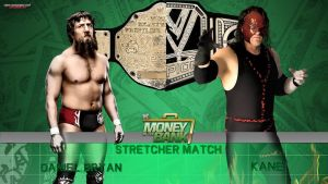 WWE Money In The Bank - Daniel Bryan vs. Kane by MarcusMarcel