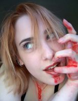 Bloody Mouth IV by fetishfaerie-stock