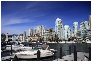 North Vancouver Waterscape by sicmentale