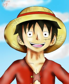Fast Luffy picture by blcha128