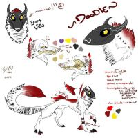 Doodle's reference sheet :3 by 101shadowdragon