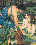 Hylas and the Nymphs by NeilMartinWilliams
