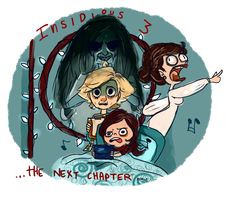 My Insidious chapter 3 contest entry by temporaryWizard