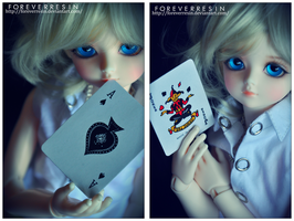 Are you the Ace or the Joker? II by ForeverResin