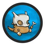 marshmallow cubone by Twitchy-Kitty-Studio