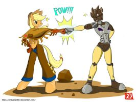 Brohoof plus Brofist by lordvader914
