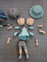 Mayushii WIP 3: Interchangeable parts by BRSpidey