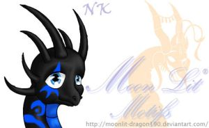 Chibi NightShade CloseUp Still by NovaBrush