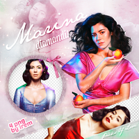 PNG Pack (155) Marina and the Diamonds by IremAkbas