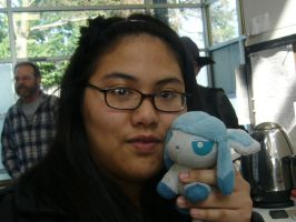 Me and Icey by hazeltopaz