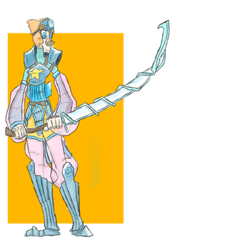Monster hunter pearl by StatykElectricity