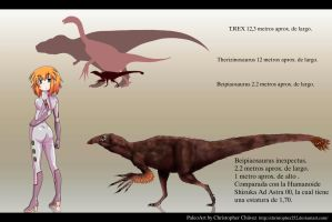 Beipiaosaurus inexpectus by Christopher252