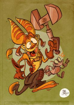 Ratchet and Clank by Themrock
