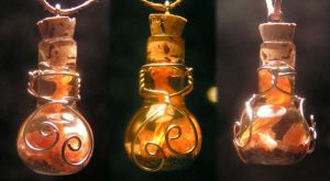 Magic Vial - Golden by Izile