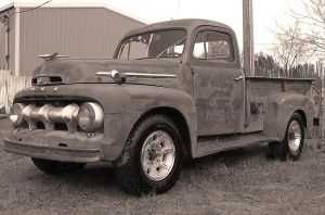 52 F-3 Ford bw by StallionDesigns