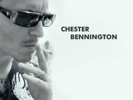 Chester Bennington by crazychaos2