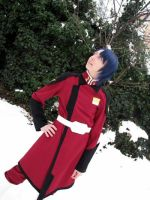 Athrun and the snow by nanashinoko