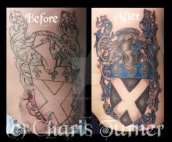 Family Crest Tattoo by Metacharis