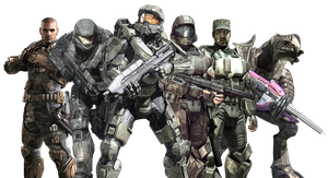 Halo - Heroes Group RENDER by Crussong