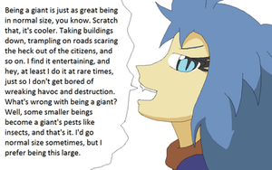 Paraphillia: Brook Talks About Being a Giant by Karasu-96