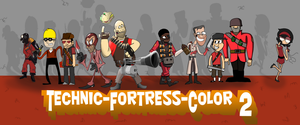 Techic-Fortress-Color 2 by UltraEd12
