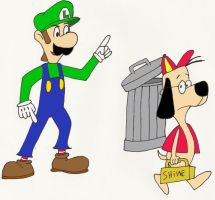 Luigi and Shoeshine by A01087379