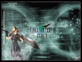 Final Fantasy 7 - Cloud by edmeneghel