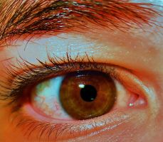 My eye, up close, HD, and edited by piperpiper7