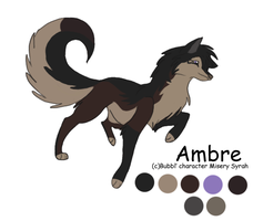 Ambre character sheet by Bubbl3sS