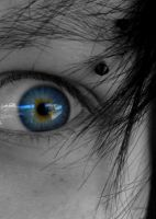My blue eye by Mrs-Prince