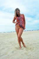 Kriss at the beach some more by spudboy4498