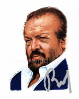 Bud Spencer - Autograph by visualwings