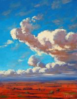 Desert Clouds by artsaus