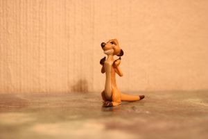 The Lion King 2 - Timon figure by CrocodileRawk