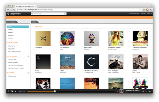Googlemusik: Google Music + Grooveshark by illusionmist